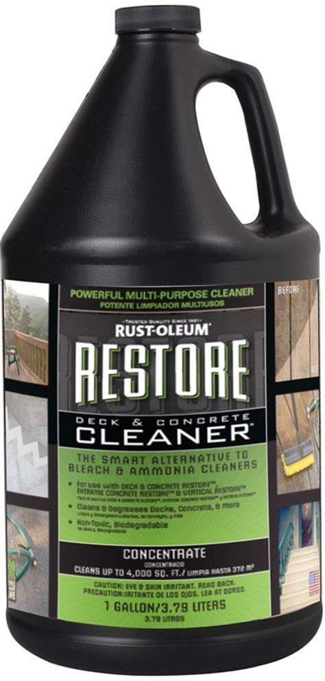 buy  rust oleum  restore deck concrete cleaner