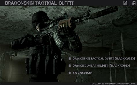 Specs Prisma In Black Cool Grey Emperor 1 Dragonskin Tactical At Fallout3 Nexus Mods And