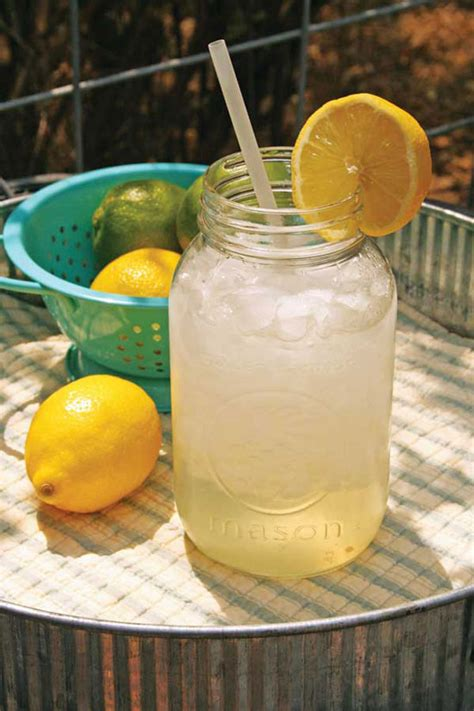 Handmade Lemonade - best summer drink recipes