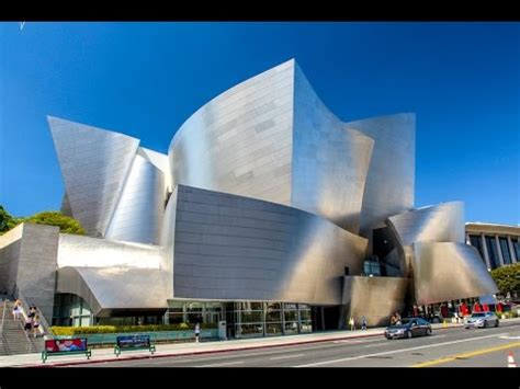 disney concert hall downtown los angeles youtube