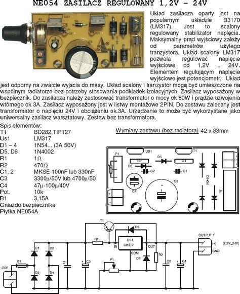 Regulator Power Suply Tv 14 21 zasilanie regulator obrot 243 w do silnika dc 12v 3a elektroda pl