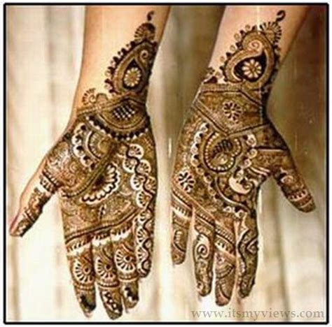 beautiful indian mehndi design for girls style pk