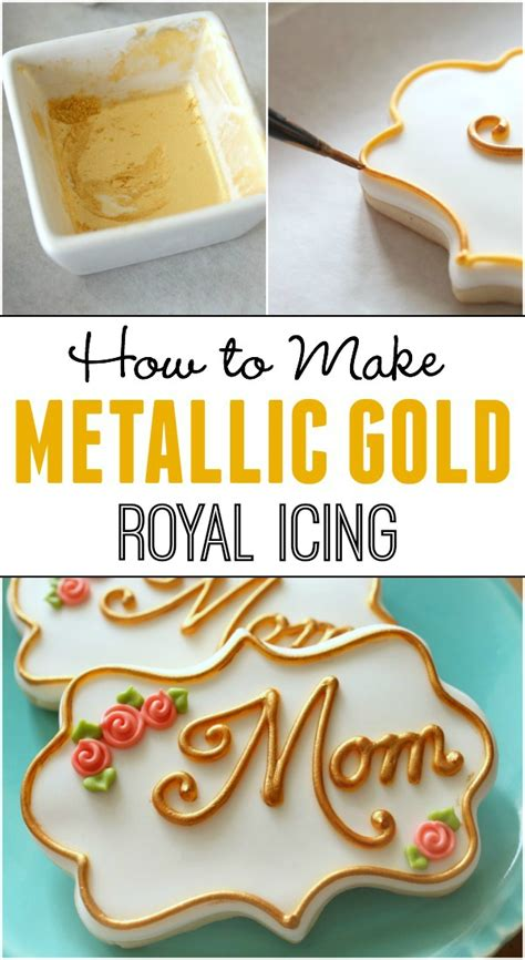 how do you make the color gold how to make gold icing and silver the sweet