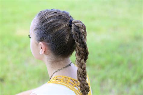 cute running hairstyles the run braid combo hairstyles for sports cute girls