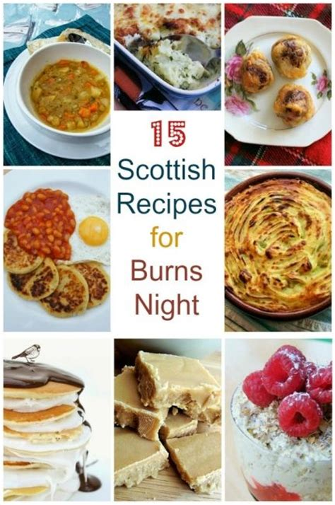 scottish dinner recipes scottish recipes and desserts on