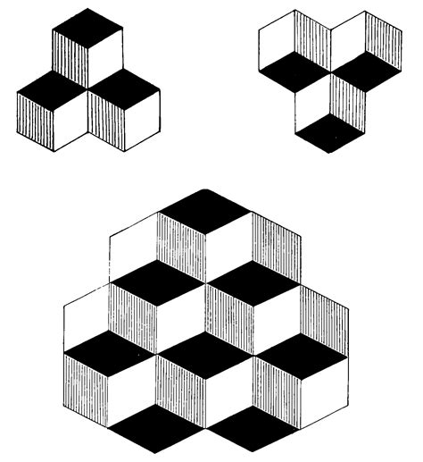 pattern psychology test file psm v54 d327 optical illusion image used in