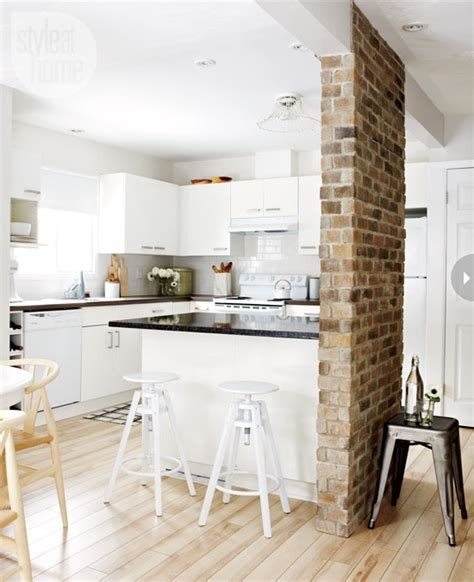 brick in kitchen 74 stylish kitchens with brick walls and ceilings digsdigs