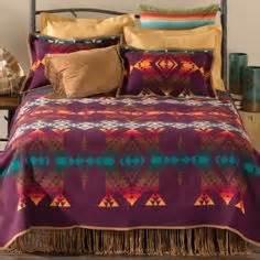 tribal western bedding the fringe bed skirt