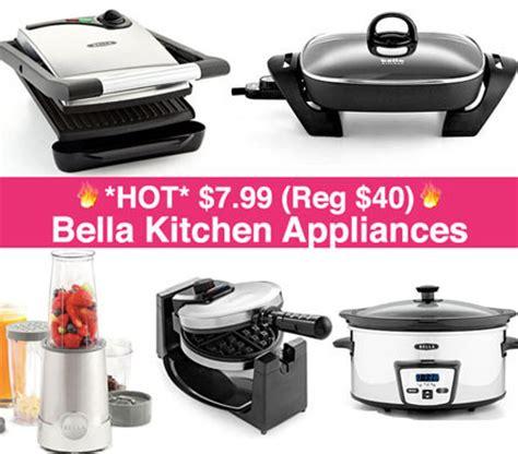 bella kitchen appliances hot 7 99 reg 40 bella kitchen appliances