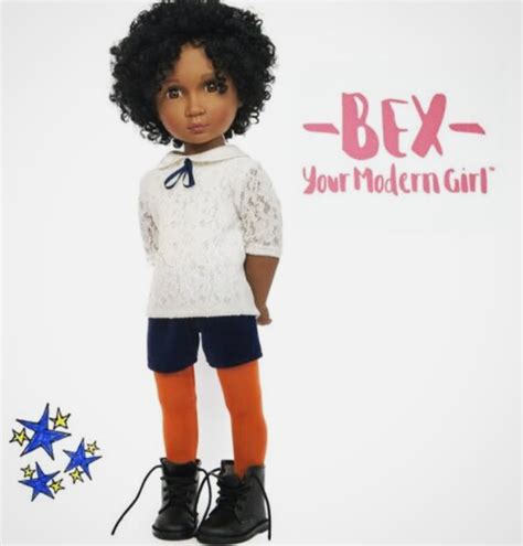 a for all time bex black doll collecting your modern bex