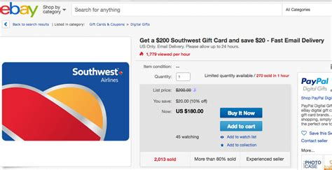 Do Southwest Gift Cards Expire - significant savings on southwest gift cards deals we like