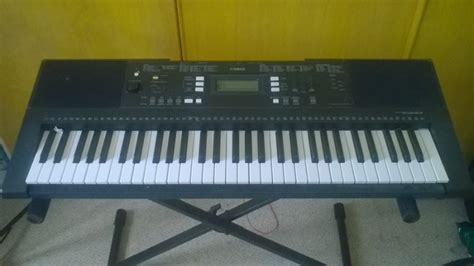 Keyboard Yamaha E343 yamaha psr e343 portable keyboard comes with stand for
