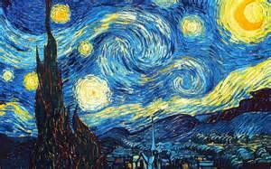 Starry Night Wednesday Wisdom Vincent Van Gogh The Starlit Forest