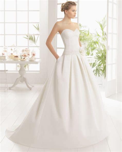 imagenes de vestidos de novias bonitos 50 fotos con los vestidos de novia sencillos m 225 s bonitos