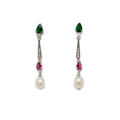 Springtime Drops From Trent Jewelry by Water Drop Pearl Earrings From Timeless Pearl