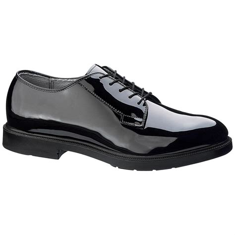 bates oxford shoes bates 174 high gloss durashocks 174 oxford 164538 dress