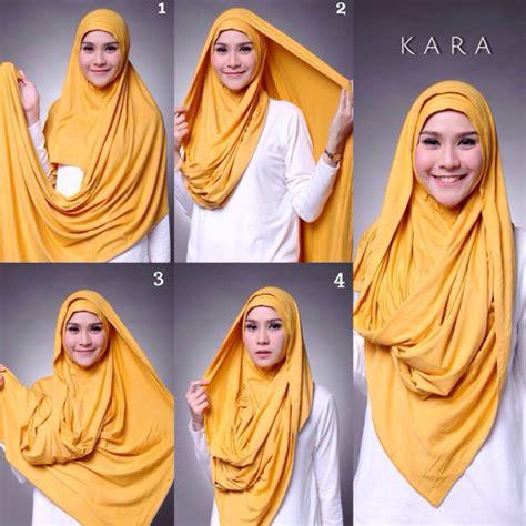 tutorial hijab pashmina kaos terbaik modelbusana tutorial hijab pashmina kaos yang simple mau ini kumpulan