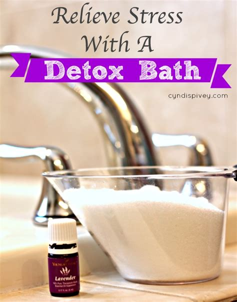 How Often To Take A Detox Bath by Relieve Stress With A Detox Bath Grace