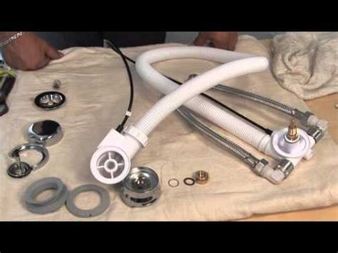 Short Bathtub How To Fit Bristan Combined Overflow And Bath Filler Youtube