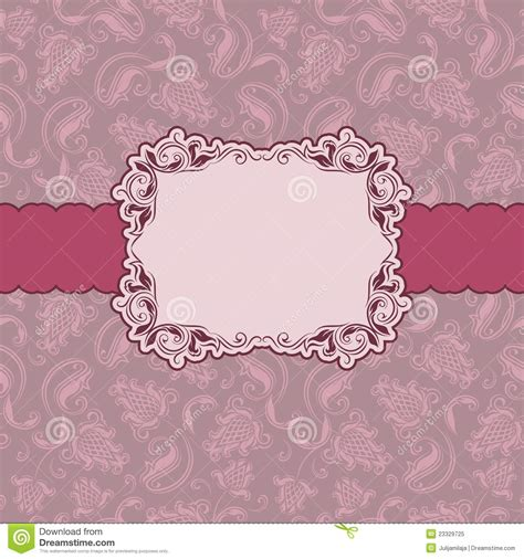 Greeting Card Frame Template by Template Frame Design For Greeting Card Royalty Free