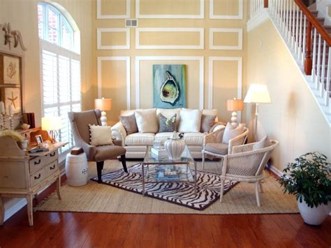 beach cottage decorating ideas living rooms coastal decorating ideas beachfront bargain hunt hgtv