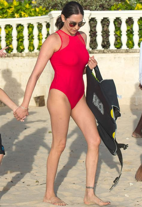 Puts On Baywatch Suit by Silverman Puts On Eye Popping Display As She