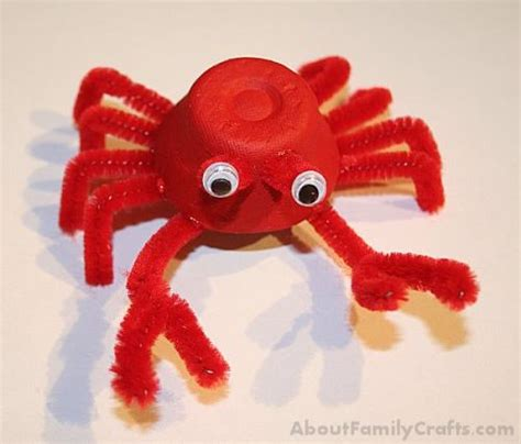 How To Make Sea Animals Out Of Paper - how to make sea creatures out of egg cartons about