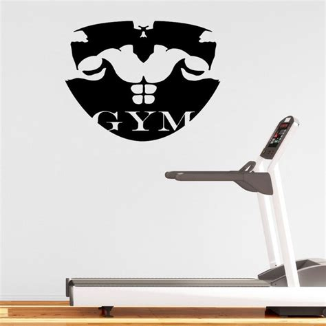 sport wall stickers vinyl sport wall sticker gymnasium wall sticker