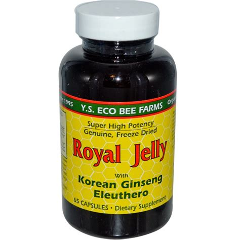 Ginseng Royal Jelly y s eco bee farms royal jelly with korean ginseng