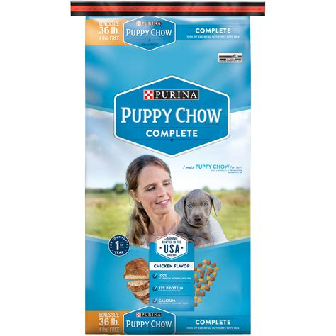 purina puppy chow review purina puppy chow complete food bonus size 36 lb bag shop your way