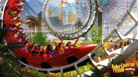 roller coaster world review roller coaster tycoon world inthegame