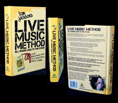 tom jackson live music tom jackson s live music method book onstage success