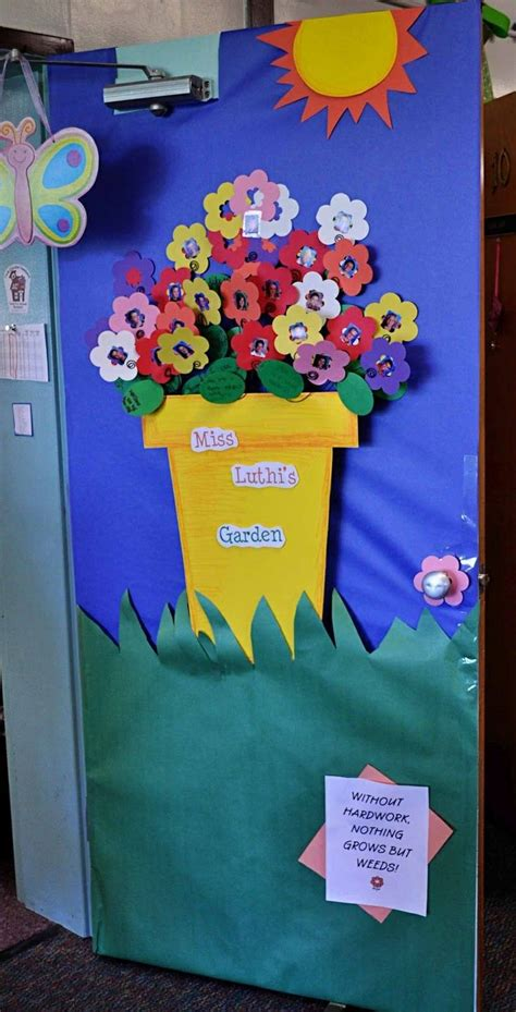 door decorations for spring pinterest