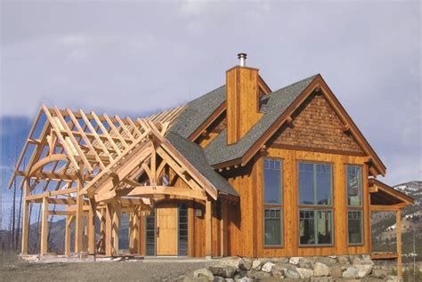 hybrid timber frame home plans hamill creek timber homes