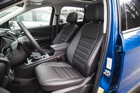 ford escape leather seat replacement drive 2017 ford escape canadian auto review