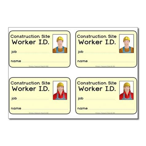 Contractor Id Card Template by Media Id Card Templates Free Business Card Vcard