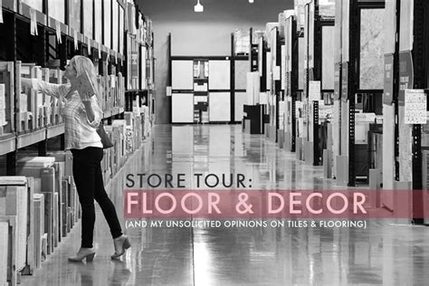 tile and floor decor store tour floor decor emily henderson