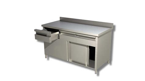 Sliding Drawers by With Sliding Doors Drawers And Upstand Ristopro