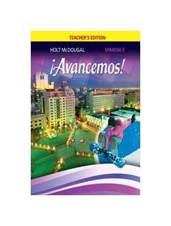 161 Avancemos Spanish 2 9780547858685 Lamp Post Homeschool
