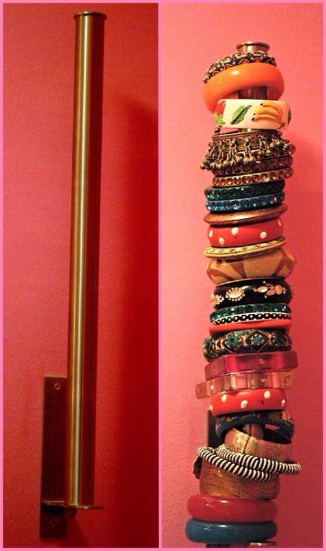 Decorative Toilet Paper Holder by 5 Easy Diy Bracelet Organizer Ideas Bangle It Up Haute