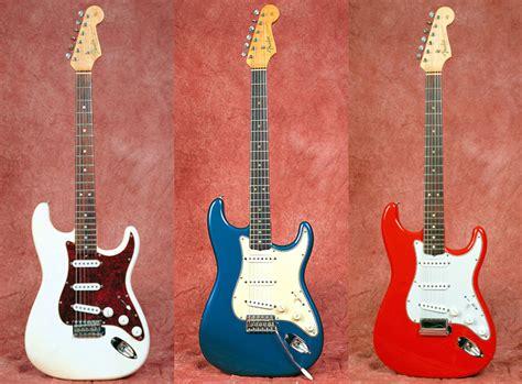 fender guitar colors custom color stratocasters vintage guitar 174 magazine