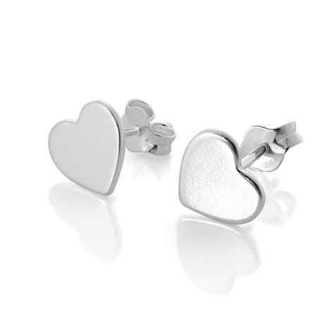 Sterling Silver Studs 925 sterling silver stud earrings valentines