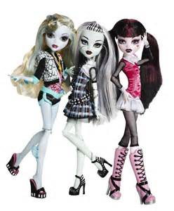 Las barbies g 243 ticas de la l 237 nea monster high son muy exitosas la