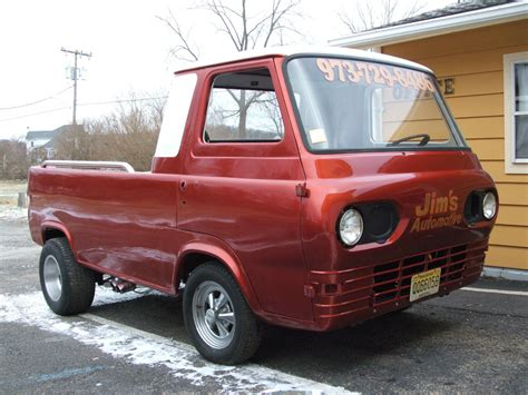 truck ford 1961 ford econoline pickup shop truck gasser classic