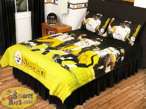 steelers bedroom set 54 best pittsburgh steelers bedroom decor images on