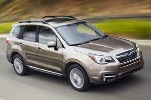 Subaru Foresta Preview 2017 Subaru Forester New Look More Traction