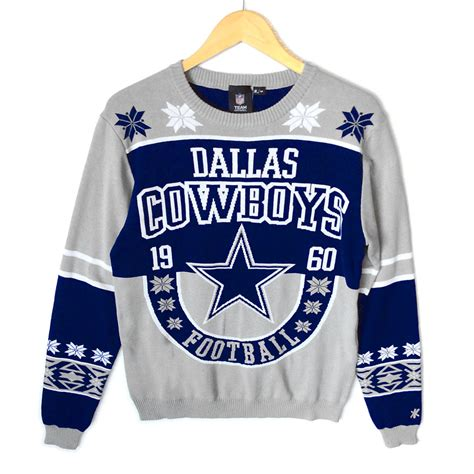 dallas cowboys light up sweater dallas cowboys tacky sweater the