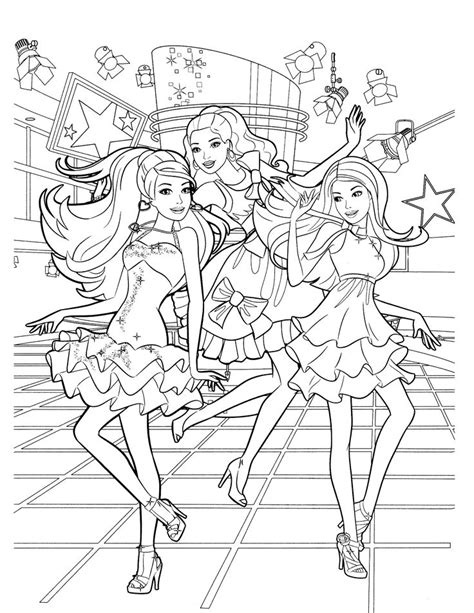 barbie doll coloring pages games barbie coloring pages games play coloring pages