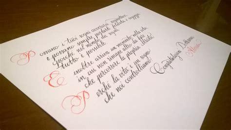 lettere corsivo inglese scrittura calligrafia corsiva cancelleresca e