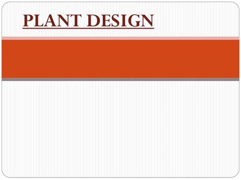 plant layout powerpoint presentation ppt plant design powerpoint presentation id 3440839